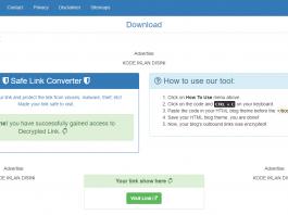 Download Template Safelink Premium Gratis 100% Work