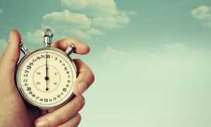 Berikan batasan waktu dan selingan