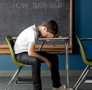 Sakit kepala dan susah konsentrasi