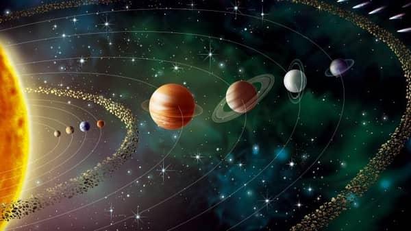 Susunan Planet Tata Surya dan Keterangan Gambarnya