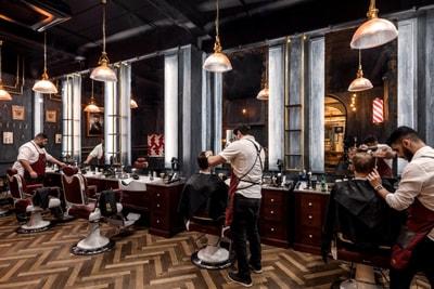Gambar Tukang Cukur