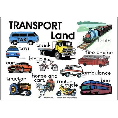 Contoh Kliping Alat Transportasi