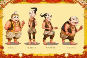 Animasi Gambar Wayang Punakawa