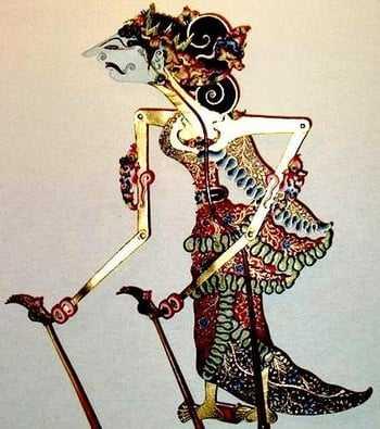 Dewi Sinta Wayang Kulit