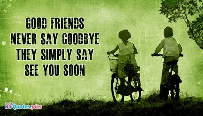 Perpisahan Sahabat