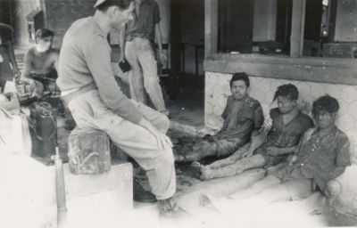 Pejuang Muda diinterogasi Belanda