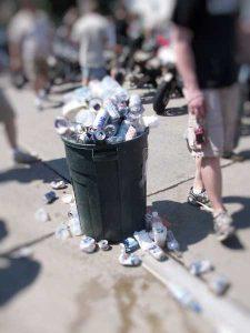 Fasilitas Tempat Sampah Umum di Kota