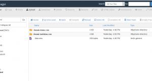 Cara Mengubah Main Domain Root Direktori ke SubFolder