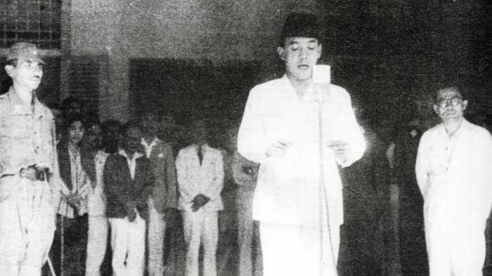 Proklamasi Kemerdekaan Negara Kesatuan Republik Indonesia Oleh Presiden IR Soekarno