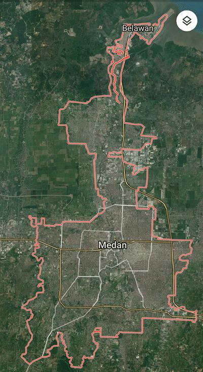 Gambar Peta Medan