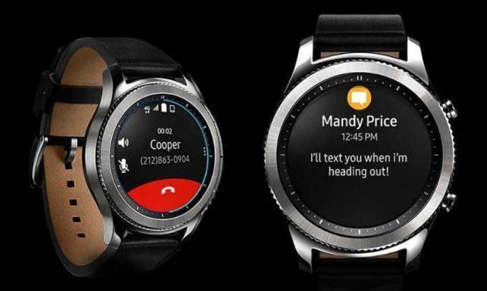 Jam Tangan Samsung Gear S4