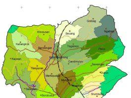 Peta Kecamatan Magelang