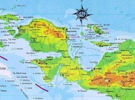 Peta Pulau Papua