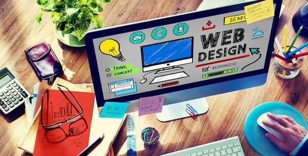 Contoh Desain Grafis Website