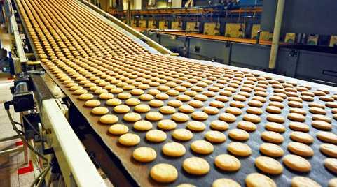 Proses Produksi Masal Kue dan Roti Makanan