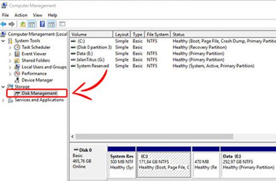 Cara Mengatasi USB Tidak Terbaca Menggunakan Computer Management 2
