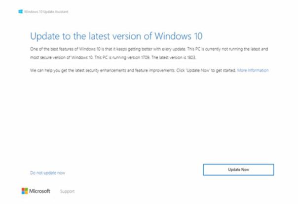 Cara Update Windows 10 Dengan Windows Assistant 1