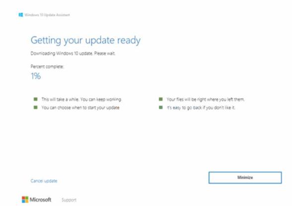 Cara Update Windows 10 Dengan Windows Assistant 3