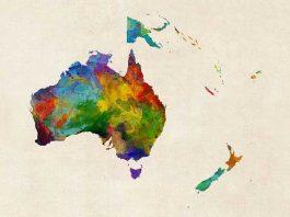Karakteristik Benua Australia : Letak, Iklim dan Bentang Alam