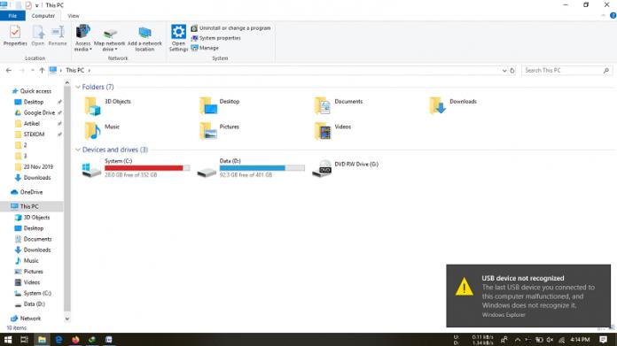 Penyebab Flashdisk Tidak Terbaca di PC atau Laptop dan Cara Mengatasinya