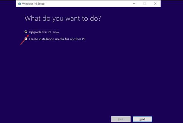 Update Windows 10 Dengan MCT 1