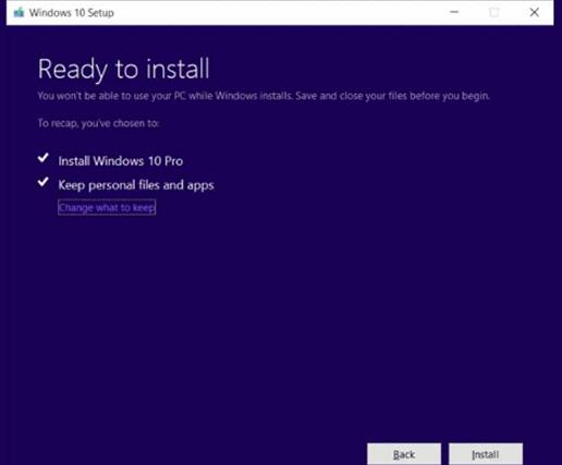 Update Windows 10 Dengan MCT 4