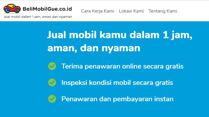 Cara kerja BeliMobilGue.co.id