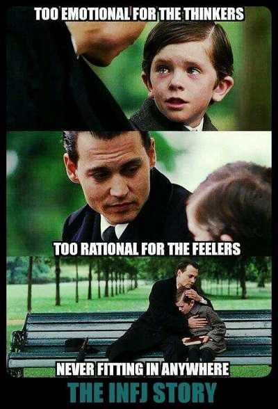 INFJ Meme - Pemikir dan Perasa