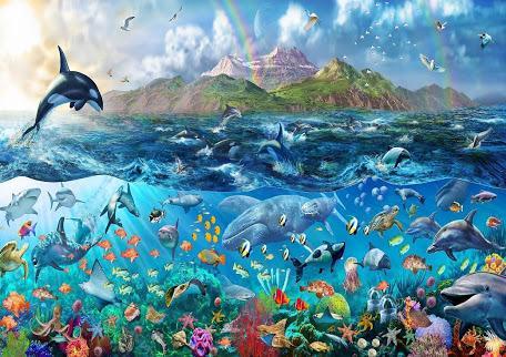 Ekosistem Laut Adalah Pengertian, Ciri-ciri, Jenis, dan Bagian