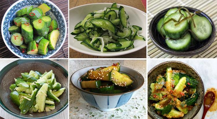 Gambar 5-Aneka masakan timun jepang