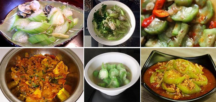 Gambar 6-Aneka masakan gambas
