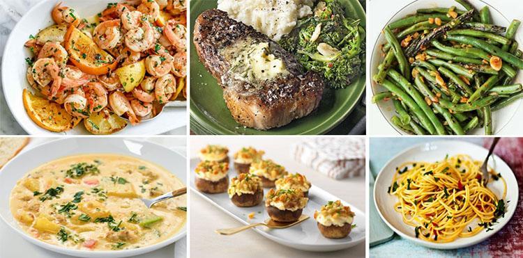 Gambar 7-Aneka masakan berbahan bawang putih