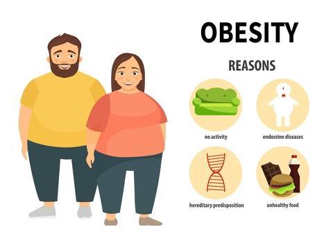 Pengertian Obesitas Adalah Penyakit Definisi Gambar Contoh Gejala, Penyebab dan Cara Mencegah serta Mengatasi