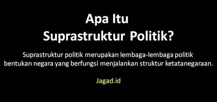 Suprastruktur Politik Adalah Definisi Arti Fungsi, Tujuan dan Contoh