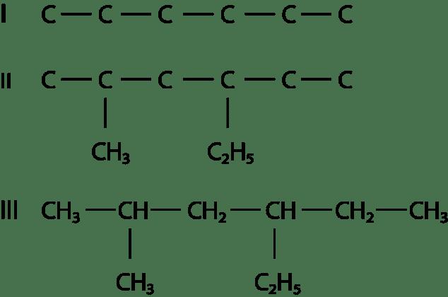 Contoh 3 : tulislah struktur 4 – etil – 2 – etil – metal – heksana!