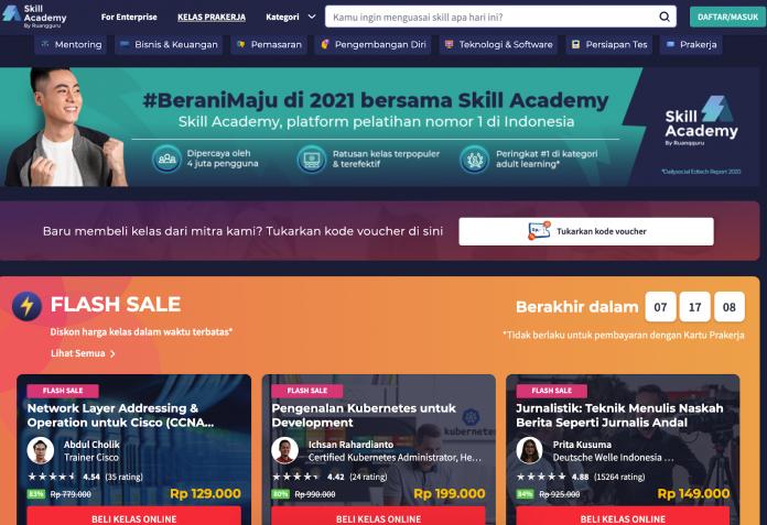 Upgrade Skillmu di Skill Academy Agar Siap Hadapi Tantangan