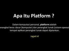 Pengertian Platform Adalah Definisi Fungsi, Macam Jenis dan Contoh